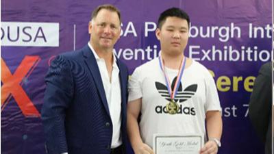 祝贺全嘉涛同学,荣获美国匹兹堡第33届国际发明竞赛展金奖!